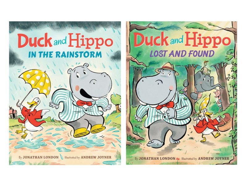 children's book series about a duck and a hippo