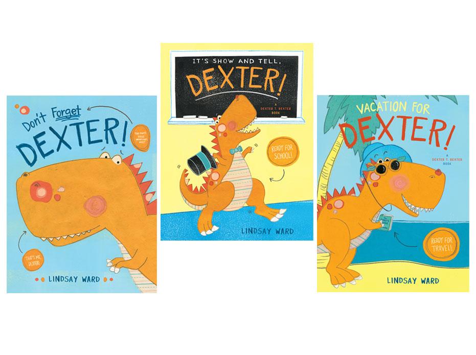 Dexter T Rexter Picture book Series