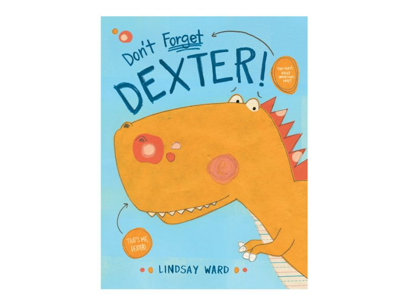 children's book about a dinosaur named Dexter
