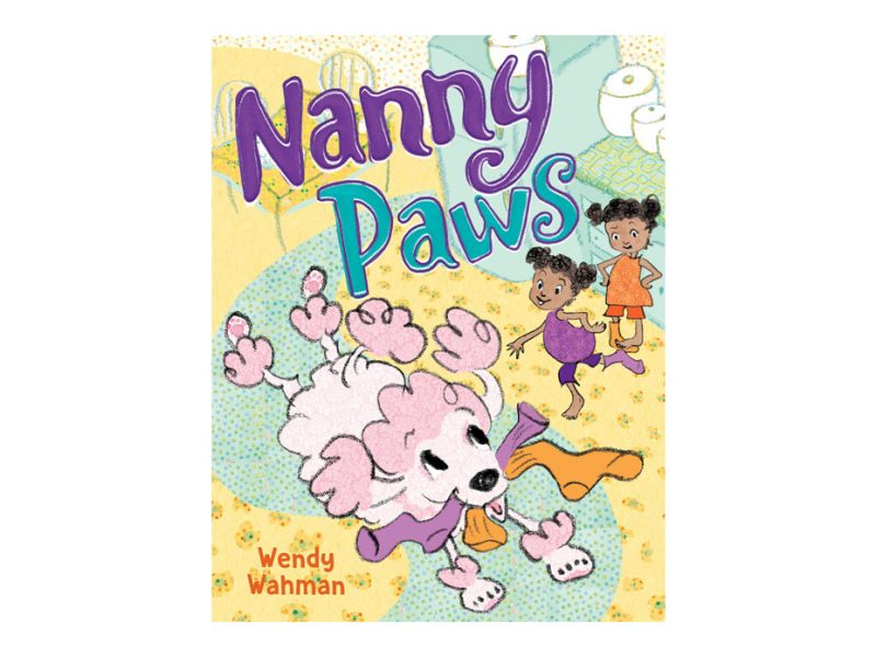 children's book called Nanny Paws