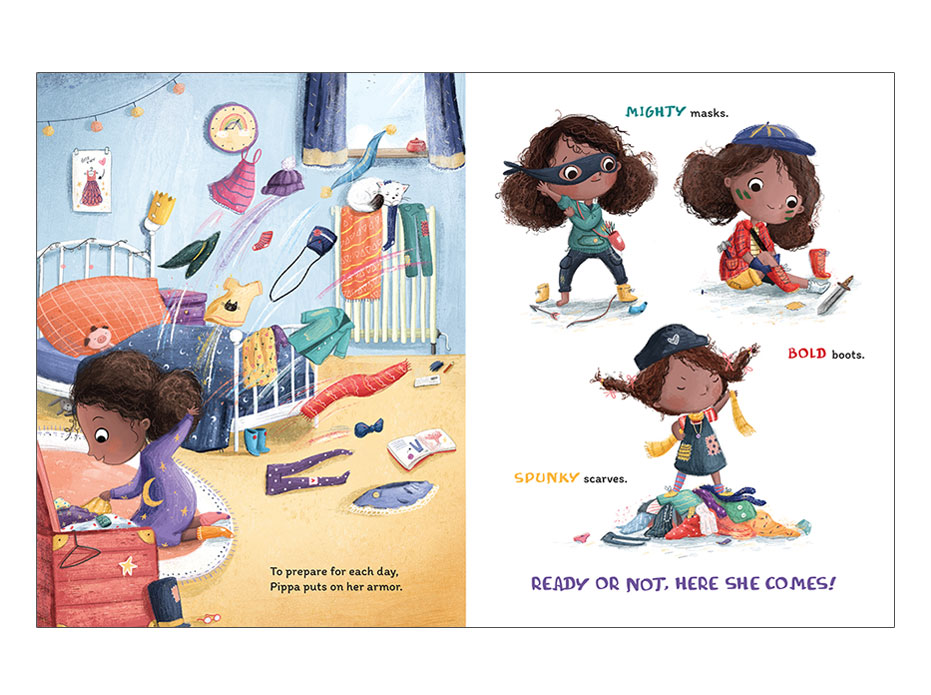 picture book designed by Abby Dening