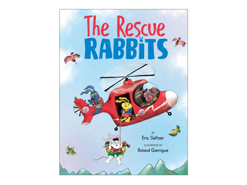 picture book about a group of rescue rabbits