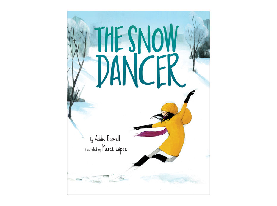 cover of the picture book The Snow Dancer