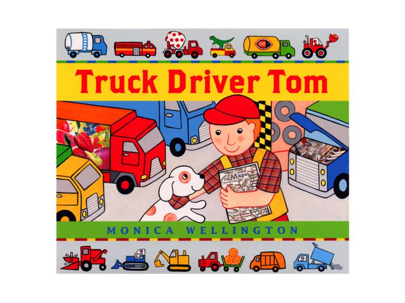 childrens book about truck driver named Tom